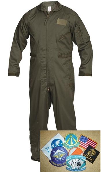 S:AAB Flight Suit, DIY kit with velcro.